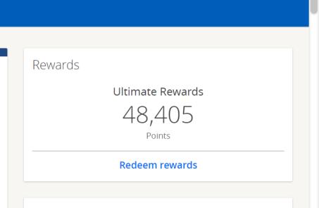 chase rewards
